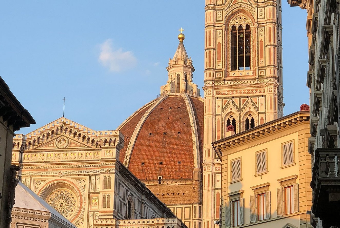 Duomo, a cathedral with a terracotta-tiled dome, Florence