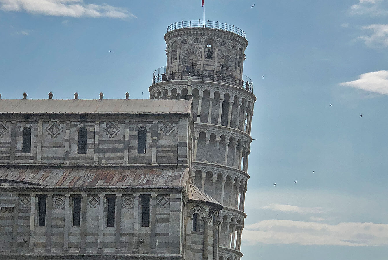 The Campanile, the Leaning Tower of Pisa, Italy, Tuscany