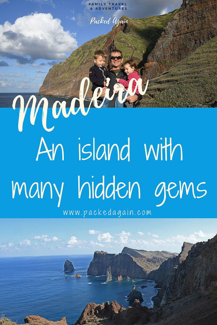 Cover - Madeira The island with many surprises. Visit Madeira Portugal