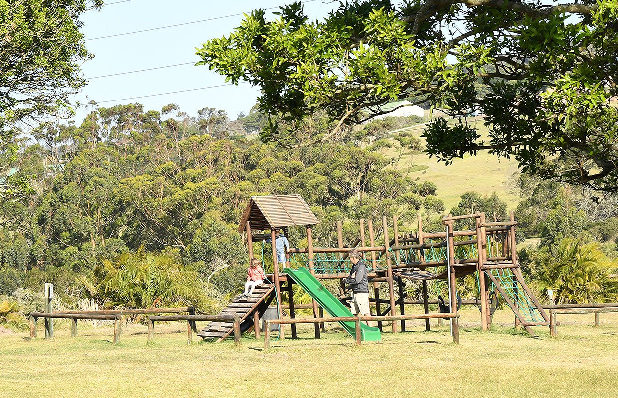 Play Area at Kragga Kamma with BBQ stations for day visitors