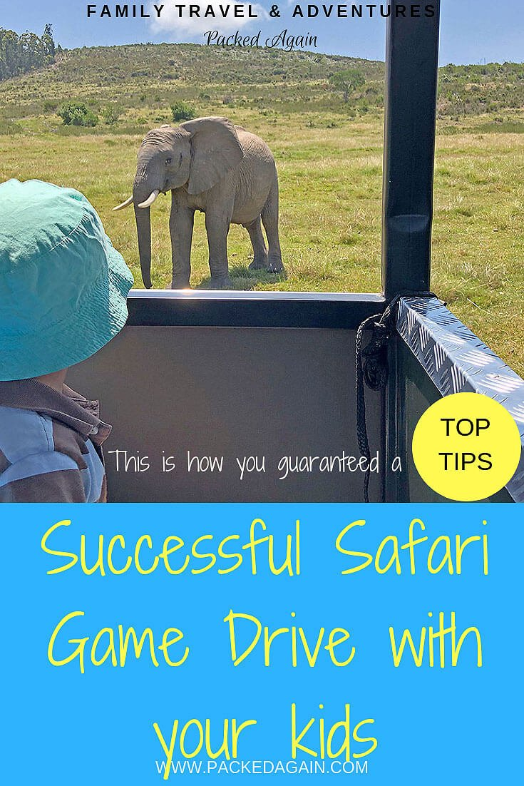 Successful Safari Game Drive With Kids in Africa