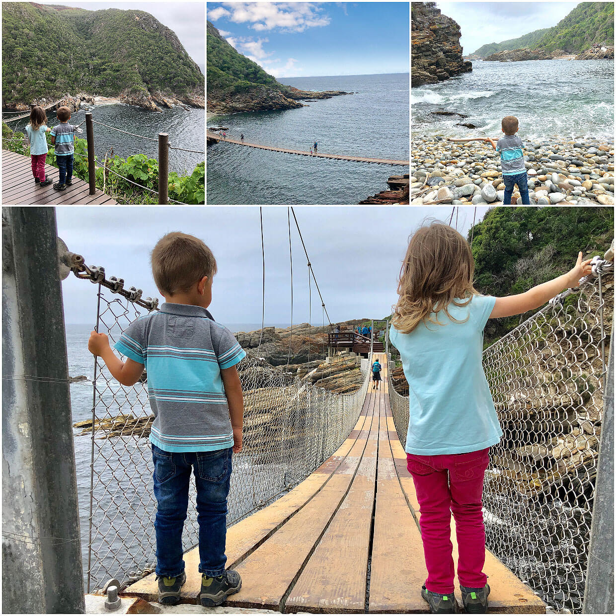 South Africa :: Storms River Mouth Hike with kids :: Tsitsikama NP
