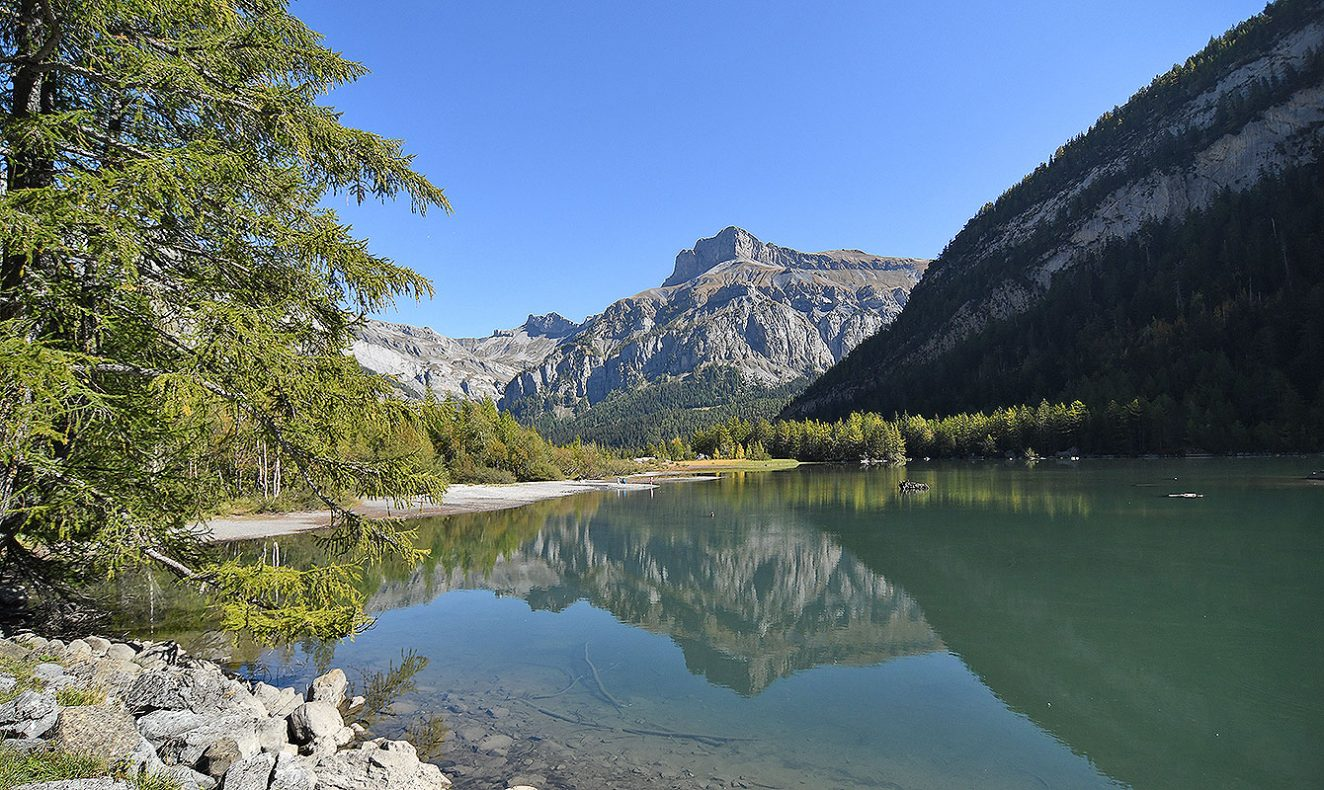 Lac Derborence Valais Switzerland