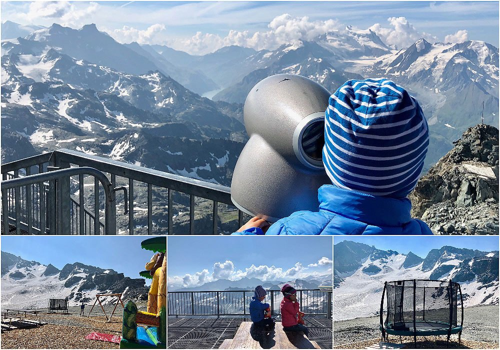Swiss altitude at 3330m Mont Fort