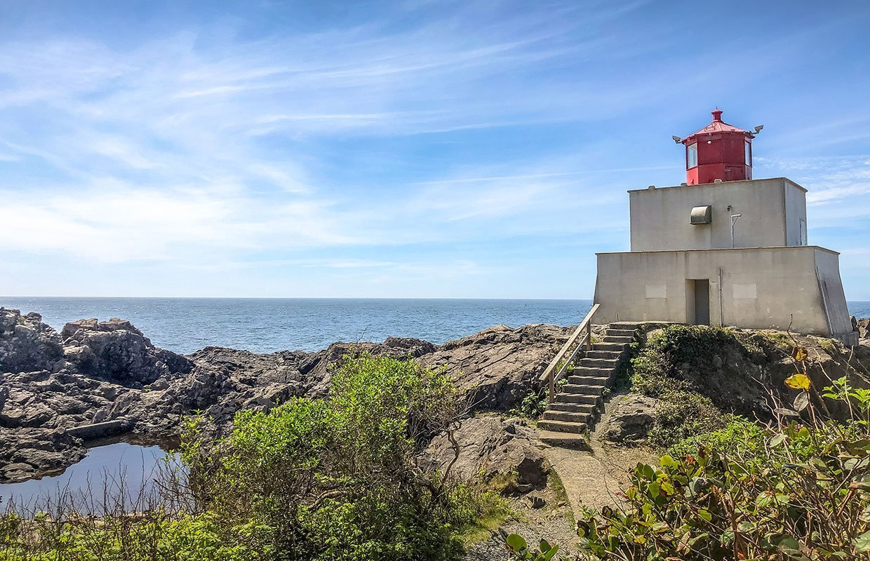 lighthouse in ucluelet