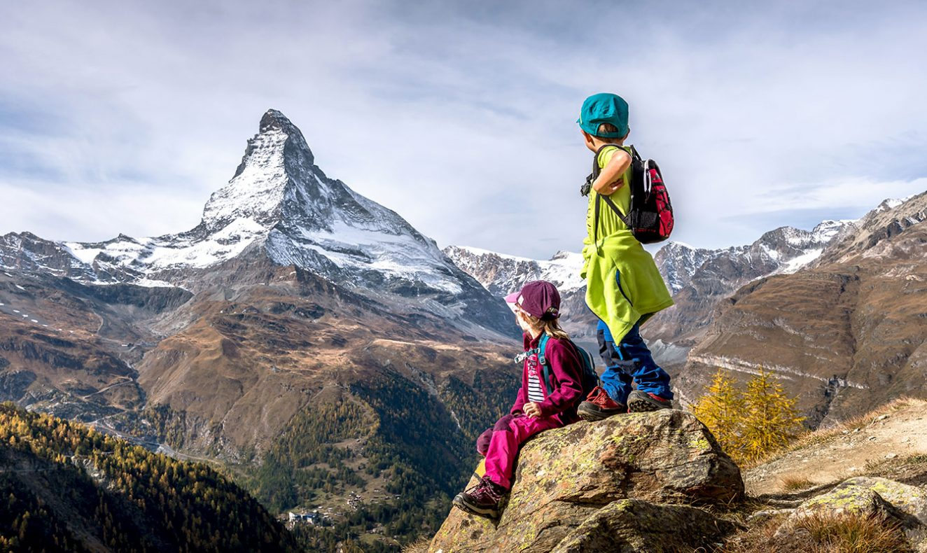 the matterhorn with kids infant