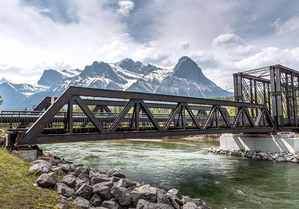 photography spot Canadian rocky iron bridge Canmore