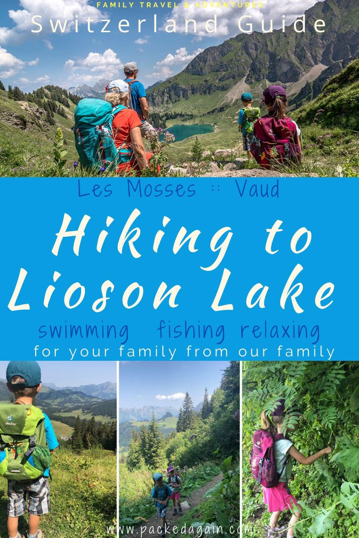 pin to the hike to Lac Lioson in Vaud
