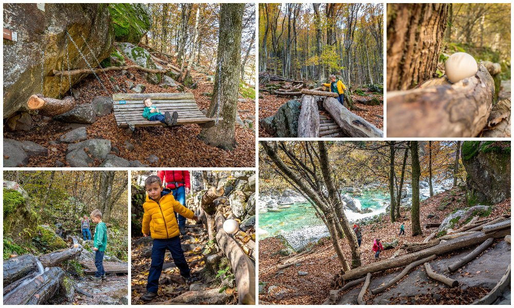 different point along the Bobosco trail
