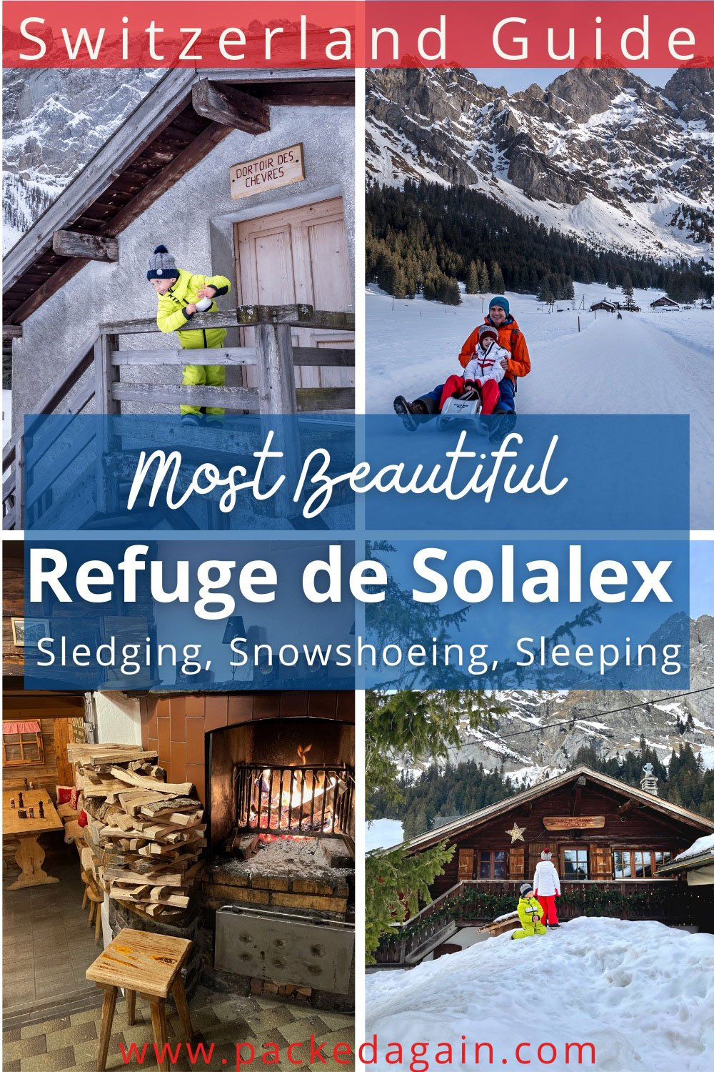 a guide to the refuge de Solalex